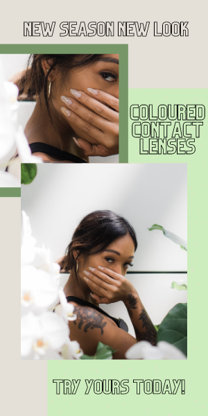 Coloured Contact Lenses for a New Look this New Season