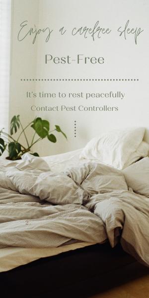 Enjoy a carefree pest-free sleep